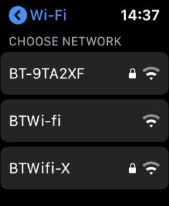 Access Internet on Apple Watch 1