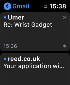 Access Web Pages on Apple Watch with Mail 3