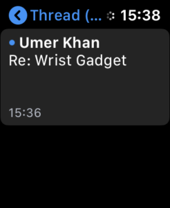 Access Web Pages on Apple Watch with Mail 4